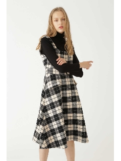 ◆ルーチェックジャンパースカート