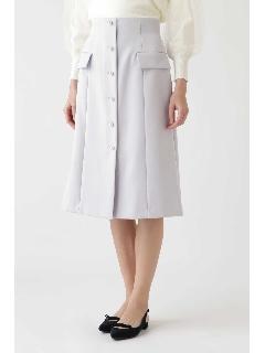 ◆《Endy ROBE》モナフロント釦スカート