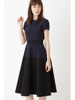 ◆《Endy ROBE》カラーブロックドレス