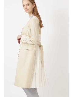 ◆バックプリーツコート