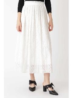 ◆|With4月号掲載|リミエンブロイダリーギャザースカート
