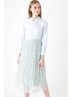 [WEB限定商品]プリーツドッキングドレス