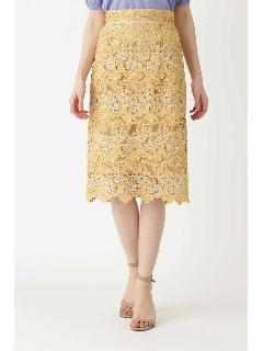 ◆エリーレースペンシルスカート