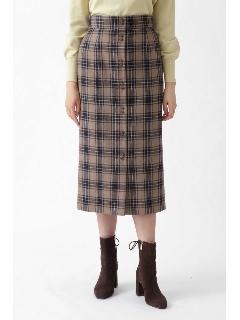 ◆ベシーチェックタイトスカート