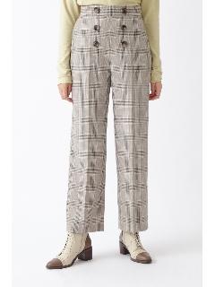 ◆ジャニスチェック柄パンツ