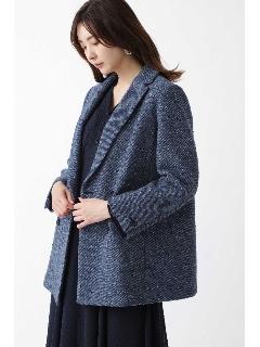 ◆マイラツイードダブルブレストジャケット