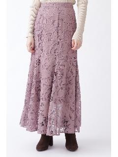 ◆《EXCLUSIVE LINE》エンブロイダリーレーススカート