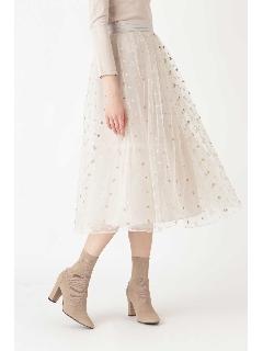 ◆《Endy ROBE》マリースターチュールスカート