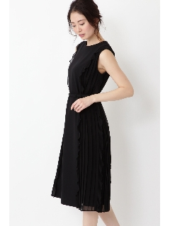 ◆《Endy ROBE》エレナサイドプリーツドレス