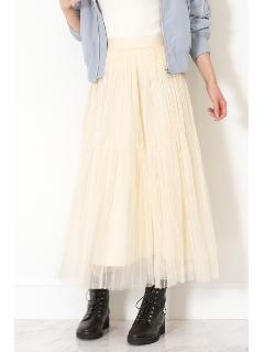 ◆ストライプチュールスカート