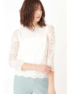 ◆エリサレース刺繍ブラウス