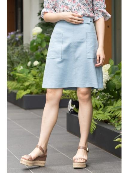 60%OFF JILLSTUART (ジルスチュアート) ◆ドロシー台形スカート BLUE(110)