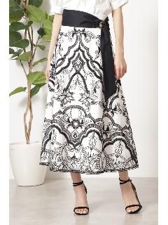 ◆サンドラエンブロイダリースカート