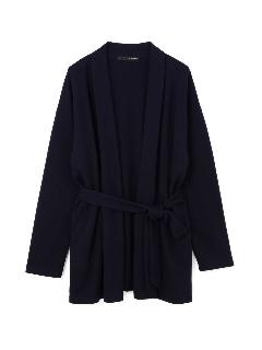 ◆大きいサイズ・洗える◆テンセルダブルフェイス羽織り