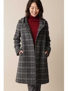 ◆大きいサイズ◆フーデットビーバーコート