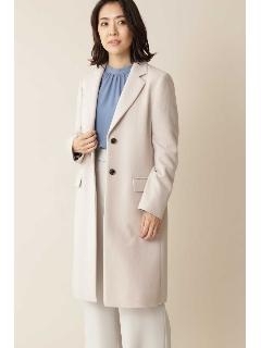 [ドラマ有村架純さん着用]◆大きいサイズ◆カシミヤ混ウールコート