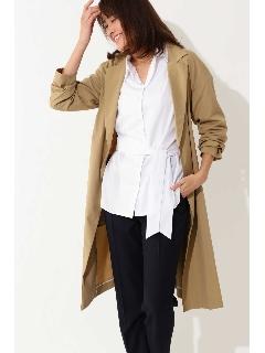 ◆大きいサイズ◆ロングタフタコート
