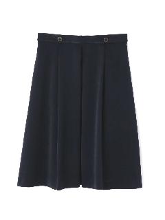 ピーチサテンスカート