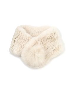 編みこみファーティペット