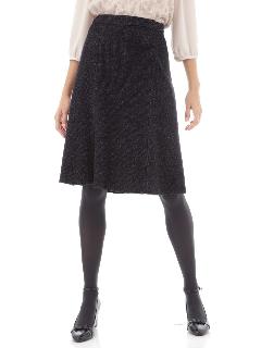 ツイードジャージースカート