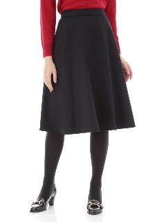 ◆ウール混フレアースカート
