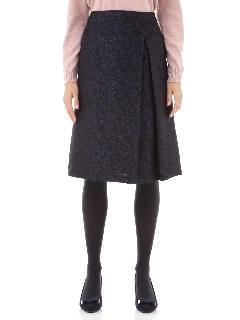 ◆フラワージャガードアシンメトリースカート
