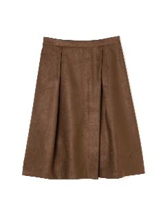 ◆大きいサイズ◆スエードラップスカート