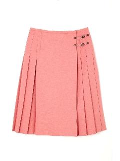 ◆大きいサイズ◆ラッププリーツスカート