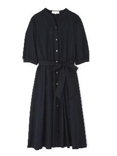 [洗える]◆大きいサイズ◆ライトタンブラーカラーシャツワンピース
