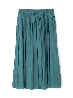 ◆大きいサイズ◆割繊ロングギャザースカート