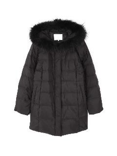 ◆大きいサイズ◆ファーフード付きダウンコート◆