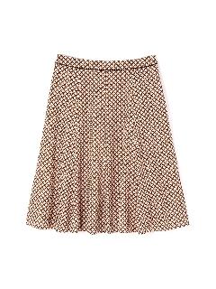 ◆大きいサイズ◆リップスティックプリントフレアスカート