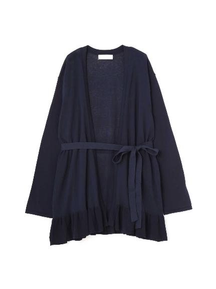 70%OFF Aylesbury (アリスバーリー) ◆大きいサイズ◆裾フリルカーディガン ネイビー(120)