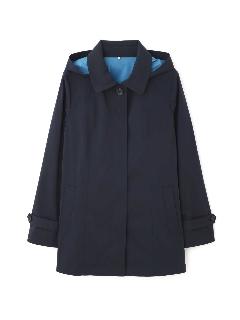◆大きいサイズ◆ステンカラーフード付コート