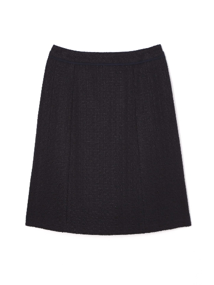 70%OFF Aylesbury (アリスバーリー) ◆大きいサイズ◆ファンシーツィードAラインスカート ネイビー(120)