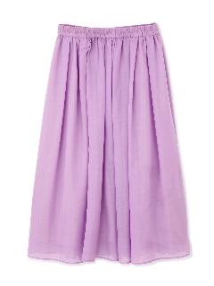 ◆大きいサイズ◆スパンボイルカラーロングスカート