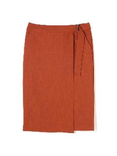 [ウォッシャブル]モックツイストスカート