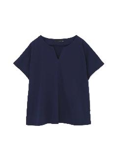 ◆[Weekend Line][洗える]キーネックTシャツ