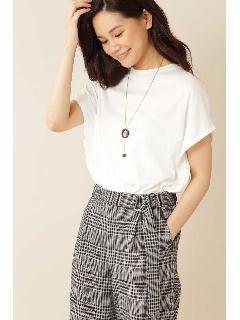 ◆[Weekend Line][洗える]マットフライスTシャツ