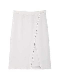 ◆[TV 着用][洗える]強撚デザインタイトスカート