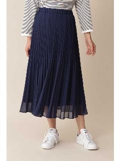 ◆[TV 着用][洗える]プリーツスカート[Weekend Line]