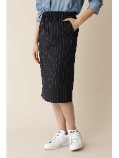 ◆[洗える][Weekend Line]ストライプドロストスカート