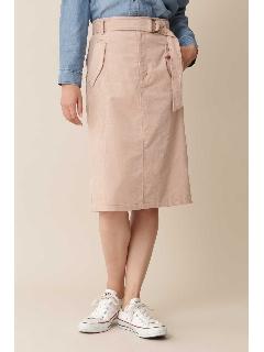◆[洗える][Weekend Line]シャツコールスカート[TV 着用]