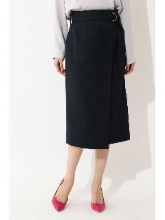 ◆麻調タイトスカート