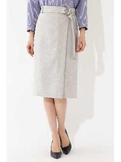 ★セットアップ対応★◆麻調サマーセットアップスカート