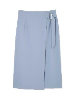★セレモニー対応★ミリオーネストレッチラップ風スカート