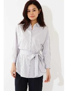 ◆ジャージーストライプシャツ