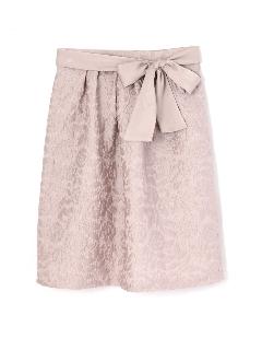 3Dフラワージャガードスカート