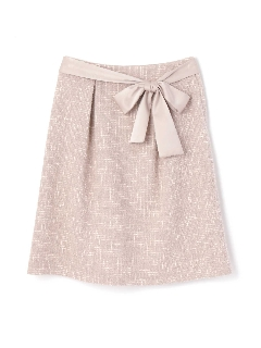 ラメMIXツィードスカート