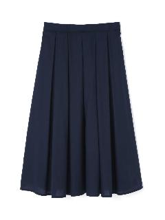 ◆大きいサイズ◆リ・フラットテンセル プリーツスカート